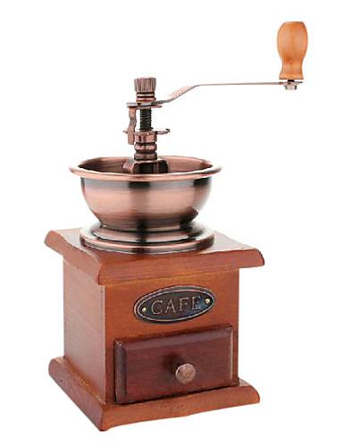 preiswerte Kaffeemühle-Hölzerner Kaffeebohnegewürzweinleseart-Handschleifer