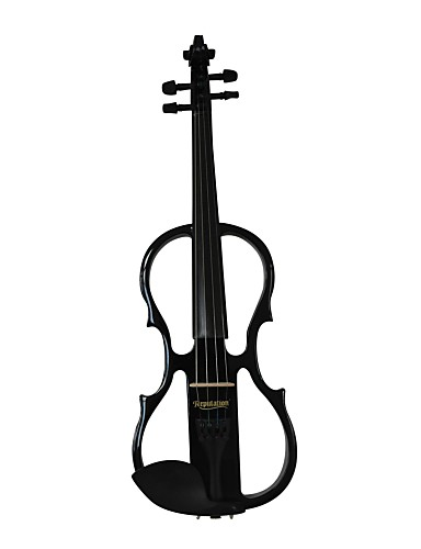 cheap String Instruments-Cozart - (ML012) 4/4 Jujube Parts Electric Violin with Case/Bow/Rosin/Cable/Battery