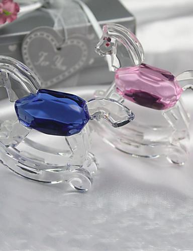 preiswerte Kristallfiguren-Krystall Kristall Artikel Braut / Brautjungfer / Blumenmädchen Hochzeit / Geburtstag / Neues Baby -