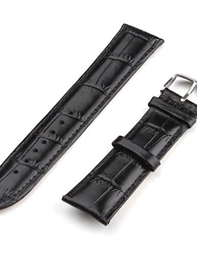 billige Klokketilbehør-Klokkeremmer Lær Klokketilbehør 0.01 kg Enkel / Klassisk