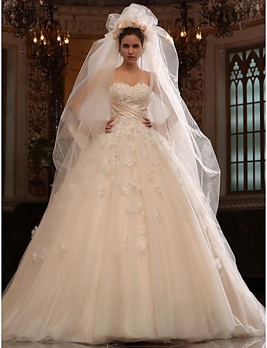 3f2d5043d3257 Jennene- فساتين زفاف 2012 (أبيض - وردي - عاجي - شمبانيا) أورجانزا 392944  2019 –  349.99