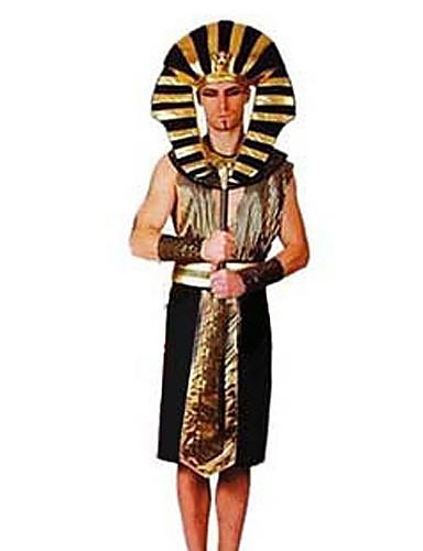 povoljno Maske i kostimi-Etnička i vjerska Egipatski kostimi Cosplay Nošnje Muškarci Halloween Karneval Festival / Praznik Poliester Muškarci Karneval kostime / Glava