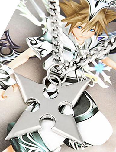 povoljno Maske i kostimi-Jewelry Inspirirana Kingdom Hearts Roxas Anime / Video Igre Cosplay Pribor Ogrlice Legura Muškarci Halloween kostime