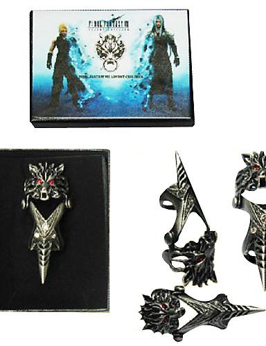 povoljno Maske i kostimi-Jewelry Inspirirana Final Fantasy Cloud Strife Anime / Video Igre Cosplay Pribor prsten Legura Muškarci Halloween kostime