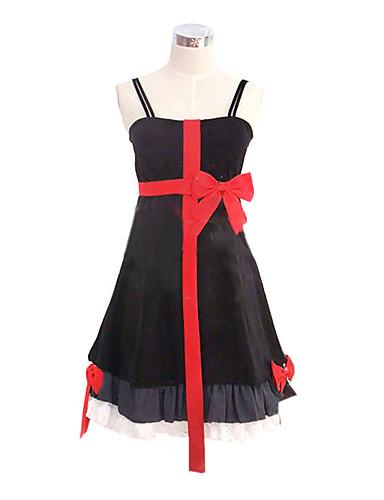 povoljno Anime cosplay-Inspirirana Kriv kruna Inori Yuzuriha Anime Cosplay nošnje Japanski Cosplay Suits / Dresses Kolaž Bez rukávů Haljina Za Žene