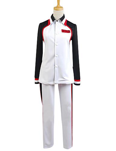 povoljno Anime cosplay-Inspirirana Kuroko nema Košarica Kuroko Tetsuya Anime Cosplay nošnje Japanski Cosplay Suits Kolaž Dugih rukava Kaput / Hlače Za Muškarci