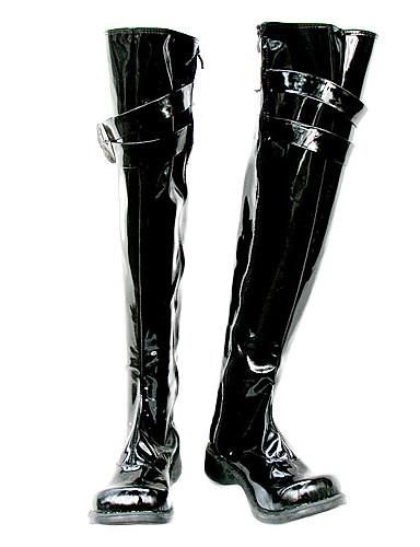 povoljno Maske i kostimi-Cosplay Boots Katekyo Hitman Reborn! Mukuro Rokudo Anime Cosplay Shoes PU koža Muškarci Halloween kostime