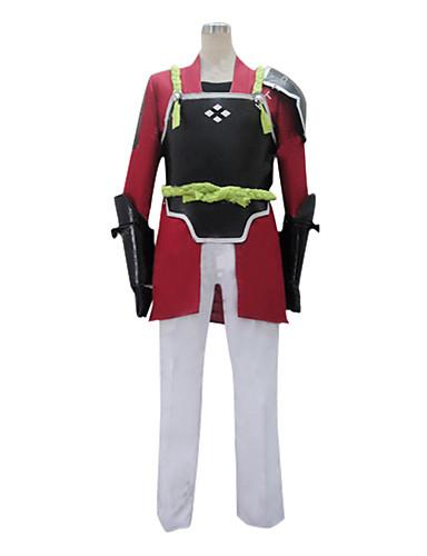 povoljno Maske i kostimi-Inspirirana SAO Swords Art Online Klein Anime Cosplay nošnje Japanski Cosplay Suits Kolaž Dugih rukava Kaput / Hlače / Rukavice Za Muškarci