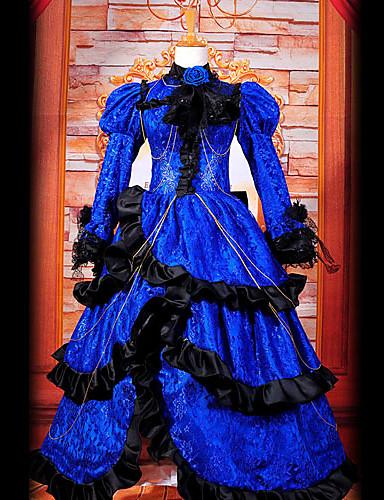 povoljno Maske i kostimi-Inspirirana Vocaloid Kagamine Len Video igra Cosplay nošnje Cosplay Suits / Dresses Kolaž Dugih rukava Haljina Kostimi / Saten