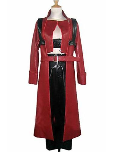 povoljno Maske i kostimi-Inspirirana Devil May Cry Dante Video igra Cosplay nošnje Cosplay Suits Kolaž Dugih rukava Kaput Hlače Kostimi