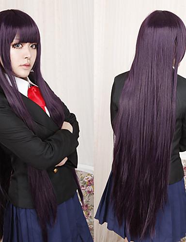 voordelige Cosplay Pruiken-Inu x Boku SS Ririchiyo Shirakiin Cosplaypruiken Dames 40 inch(es) Hittebestendige vezel Paars Anime