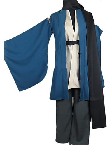 povoljno Maske i kostimi-Inspirirana Nurarihyon unuk Kubinashi Anime Cosplay nošnje Japanski Cosplay Suits / Kimono Jednobojni Dugih rukava Kaput / Hlače / Pojas Za Muškarci