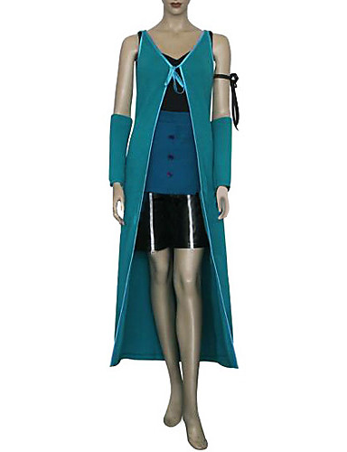 povoljno Maske i kostimi-Inspirirana Final Fantasy Rinoa Video igra Cosplay nošnje Cosplay Suits Kolaž Bez rukávů Mellény Top Rukavi Kostimi