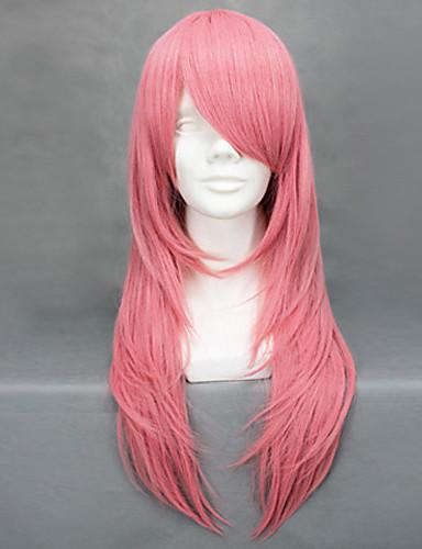 levne Cosplay paruky-Reborn! Bianchi Cosplay Paruky Dámské 26 inch Horkuvzdorné vlákno Růžová Anime