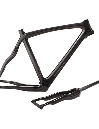 cheap Bike Frames-700C Road Frame Full Carbon Bike Frame 3K Glossy / 3K Matt Integrated Molded