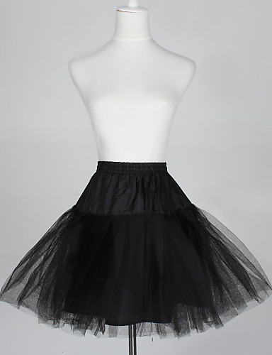 cheap Wedding Slips-Wedding / Special Occasion Slips Taffeta / Tulle Short-Length A-Line Slip / Ball Gown Slip with