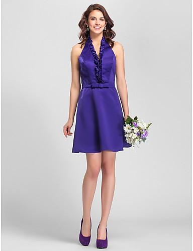 76a45cfed8d8 TESIA - kjole til brudepige i satin 518249 2019 –  99.99