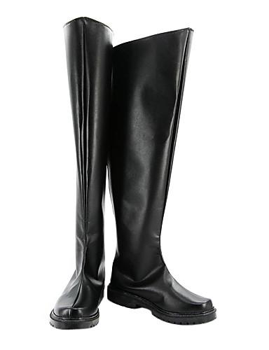 povoljno Maske i kostimi-Cosplay Boots Cosplay Kururugi Suzaku Anime Cosplay Shoes PU koža Muškarci Halloween kostime