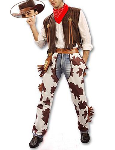povoljno Maske i kostimi-Movie & TV Theme Costumes Ratnik Cosplay Nošnje Muškarci Halloween Karneval New Year Festival / Praznik Poliester Muškarci Karneval kostime / Šešir