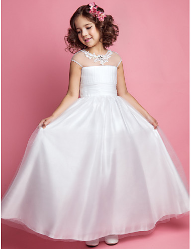 Vestido corte princesa para nina