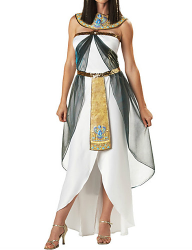 povoljno Maske i kostimi-Kleopatra Haljine Izgledi Žene Halloween Karneval New Year Festival / Praznik Poliester Žene Karneval kostime / Haljina / Haljina