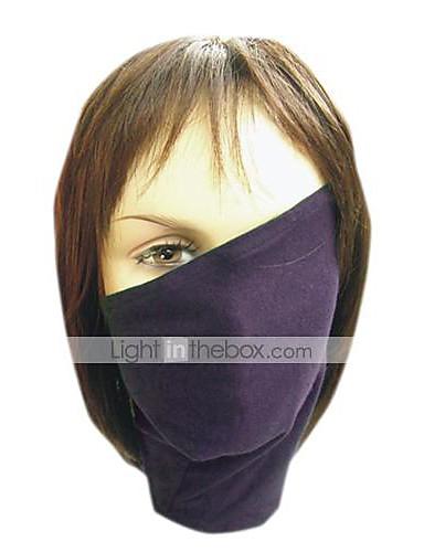 povoljno Maske i kostimi-Mask Inspirirana Naruto Hatake Kakashi Anime Cosplay Pribor Mask Poliester Muškarci vruć Noć vještica