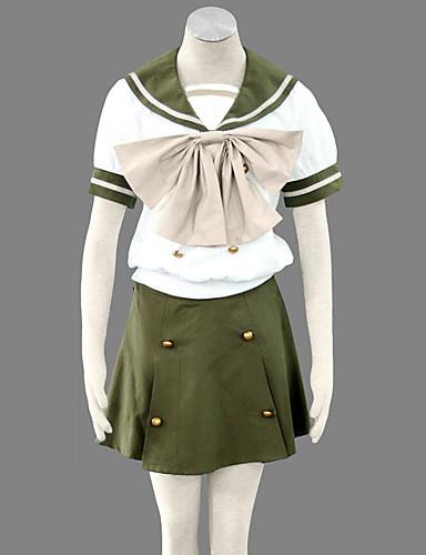 povoljno Maske i kostimi-Inspirirana Shakugan no Shana Shana Anime Cosplay nošnje Japanski Cosplay Suits / School Uniforms Kratkih rukava Top / Suknja / Ribbon Za Žene
