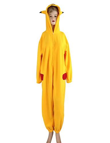 povoljno Maske i kostimi-Inspirirana Pocket Little Monster PIKA PIKA Video igra Cosplay nošnje Cosplay Suits / Kigurumi plišana pidžama Dugih rukava Hula-hopke / Onesie Kostimi