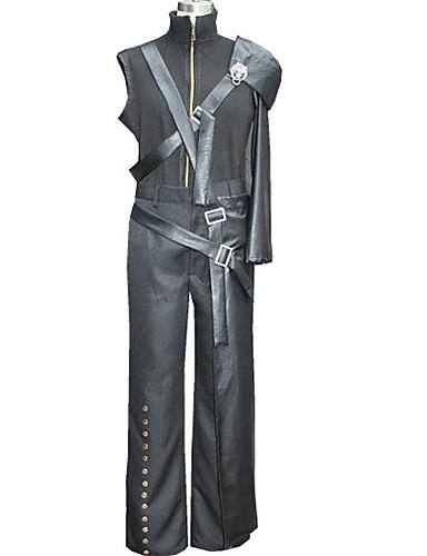 povoljno Maske i kostimi-Inspirirana Final Fantasy Cloud Strife Video igra Cosplay nošnje Cosplay Suits Kolaž Kaput Hlače Struk Pribor Kostimi