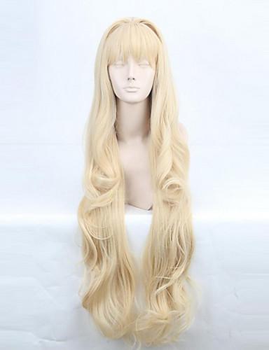 povoljno Maske i kostimi-Vocaloid SeeU Cosplay Wigs Žene 32 inch Otporna na toplinu vlakna Anime