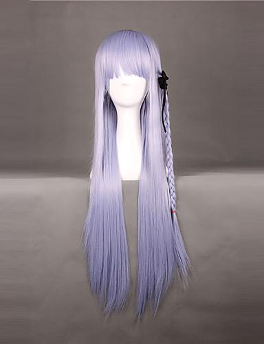 levne Cosplay paruky-Dangan Ronpa Kyoko Kirigiri Cosplay Paruky Dámské 32 inch Horkuvzdorné vlákno Anime