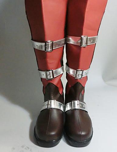 preiswerte Videospiele Cosplay Schuhe-Cosplay Stiefel Final Fantasy Lightning Anime Cosplay Schuhe PU-Leder Damen Halloween Kostüme