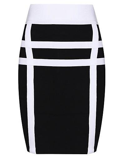 b59b53dab84 Hot prodej módní černé a bílé Sexy Bodycon Bandáž šaty 1053580 2019 –  31.49