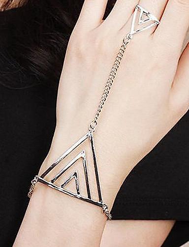 preiswerte Armband Ring-Damen Ring-Armbänder Sklaven Aus Gold Aleación Armband Schmuck Gold / Silber / Bronze Für Party Alltag Normal