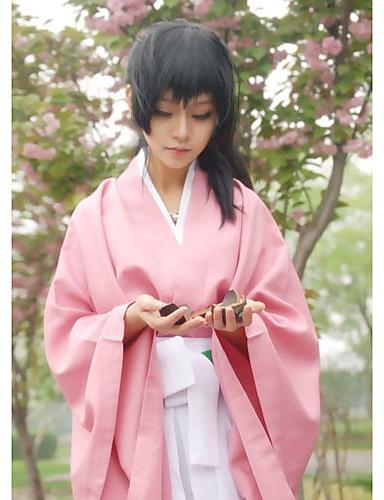 povoljno Maske i kostimi-Inspirirana Cosplay Chizuru Yukimura Video igra Cosplay nošnje Cosplay Suits / Kimono Jednobojni Top Hlače Pojas Kostimi
