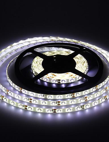 preiswerte Feiertags-Dekorations-Licht-Jiawen fiexble führte hellen Streifen 5m 3528smd 8mm 30leds / m rgb wasserdichte Aquariumdekoration DC 12v