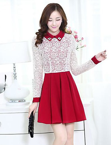 7823572be2a Women s Work Cute Skater Dress