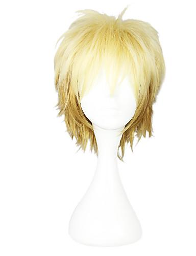levne Cosplay paruky-Noragami cosplay Cosplay Paruky Dámské 12 inch Horkuvzdorné vlákno Blonďatá Blonďatá Anime / Paruka