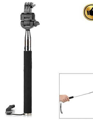 Недорогие Распродажа-Аксессуары Монопод Монтаж Высокое качество Для Экшн камера Gopro 5 Gopro 3 Gopro 3+ Gopro 2 Спорт DV Нержавеющая сталь Стекло пластик