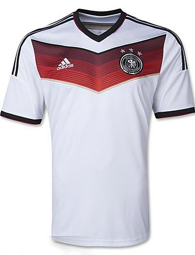 big sale 02cdc 14401 [$7.99] 2014 World Cup World Cup Jerseys Germany Home Game White (Adizero)