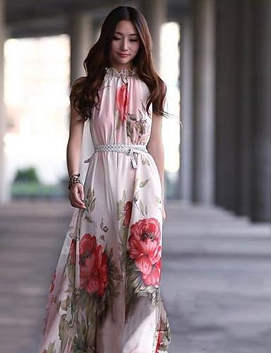 40ed12073dbd Γυναικεία Παραλία Swing Φόρεμα - Φλοράλ
