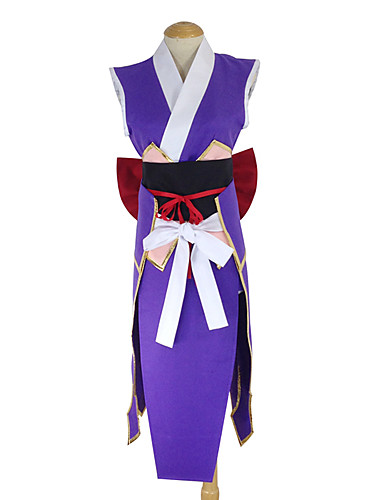 povoljno Maske i kostimi-Inspirirana Fairy Tail Erza Scarlet Anime Cosplay nošnje Japanski Cosplay Suits / Kimono Kolaž Pregača / Pojas / Luk Za Žene