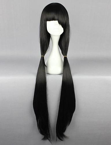 povoljno Maske i kostimi-Datum uživo Kurumi Tokisaki Cosplay Wigs Žene 40 inch Otporna na toplinu vlakna Anime