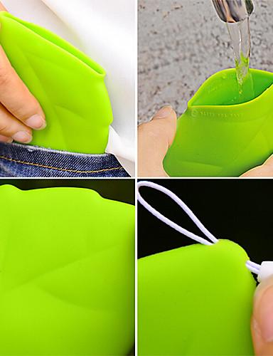 preiswerte Wasserflaschen-1pc tragbare Blattarttaschenschale Umweltgrün tragen Schale