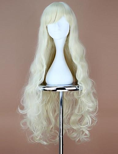 povoljno Maske i kostimi-Cosplay Mary Cosplay Wigs Žene 36 inch Otporna na toplinu vlakna Anime