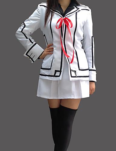 povoljno Maske i kostimi-Inspirirana Vampire Knight Luca Souen Anime Cosplay nošnje Japanski Cosplay Suits / School Uniforms Kolaž Dugih rukava Kaput / Shirt / Suknja Za Žene