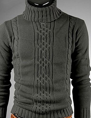 6c2f629067 QCH férfi magas nyakú pulóver (Dark Grey) 1559397 2019 – $4.99