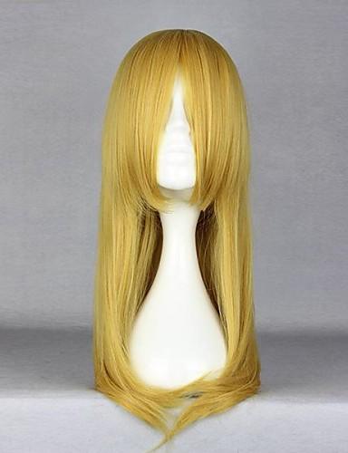 povoljno Maske i kostimi-Cosplay Kirino Kosaka Cosplay Wigs Žene 22 inch Otporna na toplinu vlakna Bijela Anime