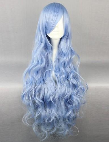 povoljno Anime cosplay-Datum uživo Yoshino Cosplay Wigs Žene 36 inch Otporna na toplinu vlakna Anime
