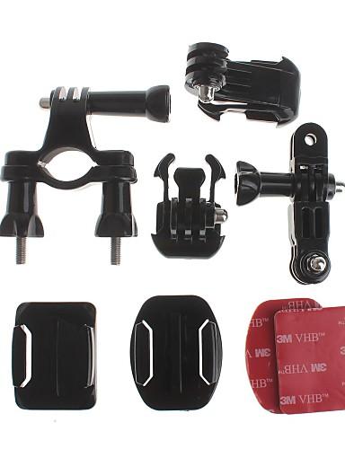 Недорогие Распродажа-Handlebar Mount Монтаж Для Экшн камера Gopro 3 Gopro 2 Gopro 3+ Gopro 1 Велоспорт Алюминий ABS